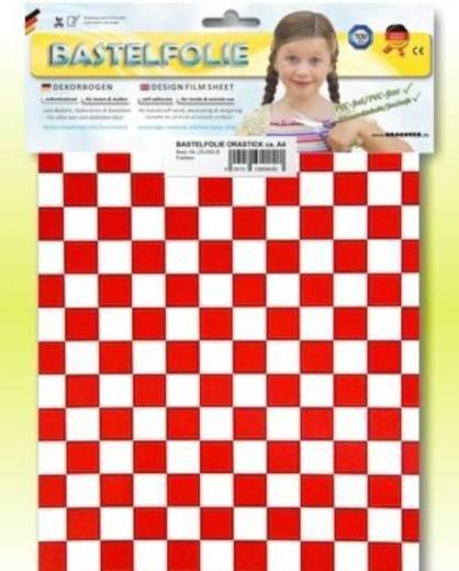 Klebefolie Oracover Orastick Fun 4 48-010-023-B (L x B) 300 mm x 208 mm Weiß-Rot