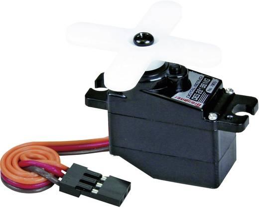 Graupner Micro-Servo DES 281 BB, MG Digital-Servo Getriebe-Material Metall Stecksystem JR