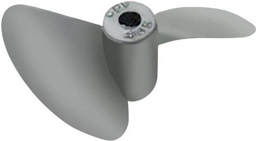 2-Blatt Schiffsschraube Aluminium Reely 35 mm Steigung: 50 mm