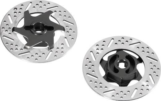 1:10 Bremsscheibenimitat-Felgenmitnehmer 12 mm 6-Kant Reely Aluminium 1 Paar