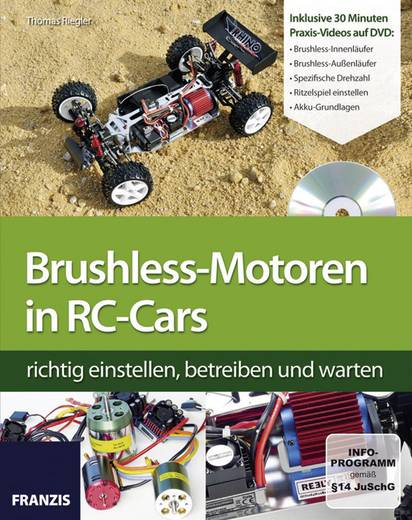 Brushless-Motoren in RC-Cars Franzis Verlag 978-3-645-65157-8