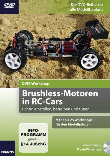 DVD Workshop Brushless-Motoren in RC-Cars Franzis Verlag 978-3-645-65164-6