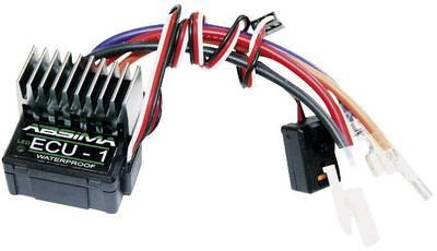Regolatore di velocità per automodello Brushed Absima ECU 1 Capacità di carico (max.): 106 A Limite motore (Turns): 15