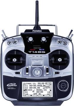 Ručné diaľkové ovládanie Futaba T14SG-R7008SB, 2,4 GHz, kanálov 14, vr. prijímača