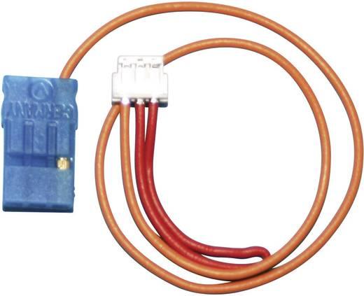 Akku Anschlusskabel [1x 3-polige ZH-Buchse - 1x Futaba-Buchse] 0.25 mm² Modelcraft