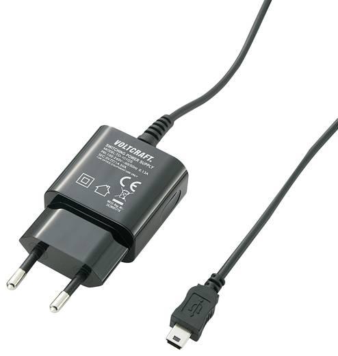 USB-Ladegerät VOLTCRAFT SPS-1000 MiniUSB SPS-1000 MiniUSB Steckdose Ausgangsstrom (max.) 1000 mA 1 x Mini-USB