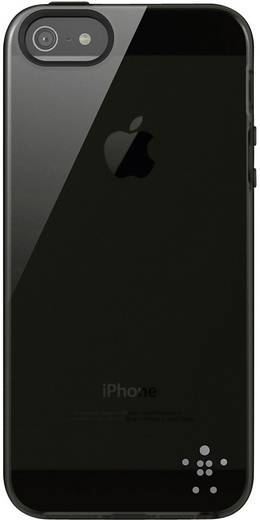 iPhone Backcover Belkin Grip Sheer TPU Passend für: Apple iPhone 5, Apple iPhone 5S, Apple iPhone SE, Schwarz