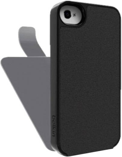 iPhone Flip Case Belkin Snap Folio Passend für: Apple iPhone 5, Apple iPhone 5S, Apple iPhone SE, Schwarz