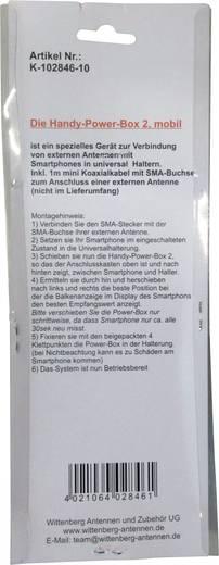 Wittenberg Antennen Empfangsverstärker Handy Power Box 2 FME-Stecker