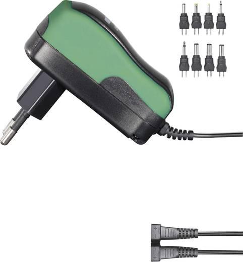 VOLTCRAFT USPS-600 Steckernetzteil, einstellbar 3 V/DC, 4.5 V/DC, 5 V/DC, 6 V/DC, 7.5 V/DC, 9 V/DC, 12 V/DC 600 mA 7.2 W