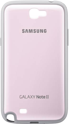 Samsung Protective Cover Backcover Passend für: Samsung Galaxy Note 2, Samsung Galaxy Note 2 LTE Pink