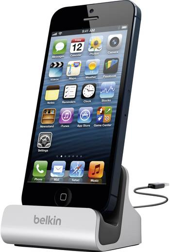 Belkin F8J045bt iPhone Dockingstation Apple iPhone 5, Apple iPhone 5C, Apple iPhone 5S, Apple iPhone SE, Apple iPhone 6,