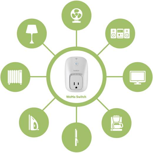 Belkin WeMo Funk-Steckdose Switch
