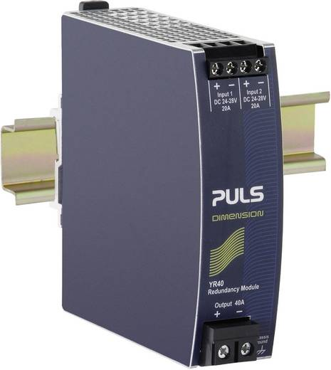 Hutschienen-Redundanz-Modul (DIN-Rail) PULS YR40.241 40 A Anzahl Ausgänge: 1 x