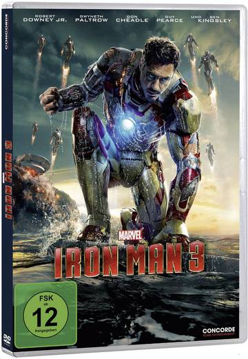 DVD Iron Man 3 FSK: 12