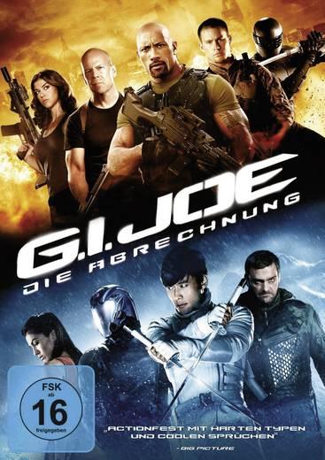 DVD G.I. Joe: Die Abrechnung FSK: 16