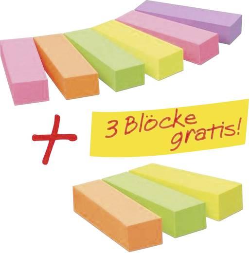 3M 670-6+3 670-6+3 Neon-Pink, Neon-Grün, Neon-Gelb, Neon-Orange, Violett 9 St. (L x B) 50 mm x 15 mm