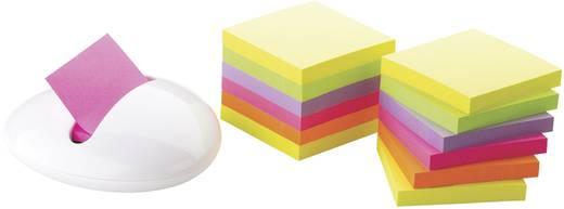 3M PBL-W12 7000033983 Neon-Gelb, Neon-Grün, Neon-Lila, Neon-Pink, Neon-Orange 12 St. (L x B) 76 mm x 76 mm