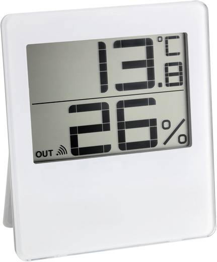 Funk-Thermo-/Hygrometer TFA 30.3052.02 CHILLY Funk-Thermo-Hygrometer weiß