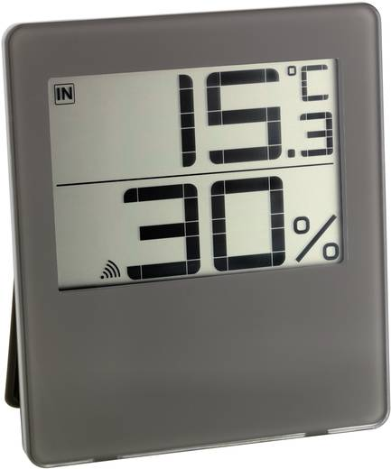 Funk-Thermo-/Hygrometer TFA CHILLY Braun