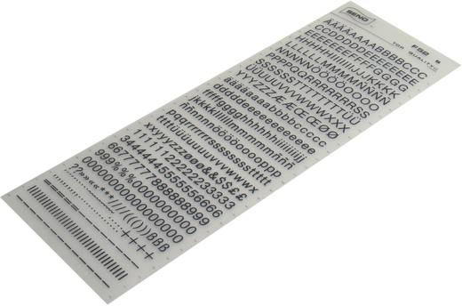 Transferbogen Schrift Schwarz (L x B) 250 mm x 90 mm SENO Inhalt 1 St.