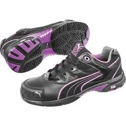 Bezpečnostná obuv S2 PUMA Safety Stepper Wns Low 642880-39, veľ.: 39, čierna, fialová, 1 pár