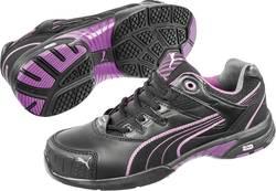 Bezpečnostná obuv S2 PUMA Safety Stepper Wns Low 642880, veľ.: 39, čierna, fialová, 1 pár