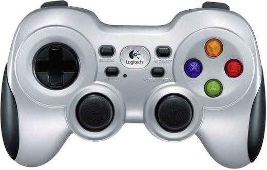 Gamepad Logitech F710 Wireless PC Silber