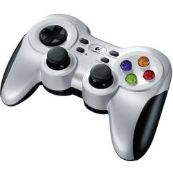 Logitech Gaming F710 Wireless Controller gamepad PC strieborná