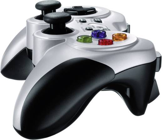 Gamepad Logitech F710 Wireless Controller PC Silber