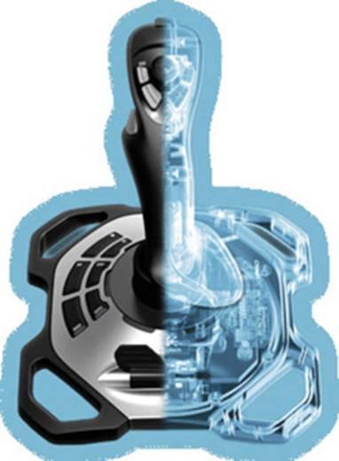 Joystick Logitech Extreme 3D Pro USB PC Schwarz, Silber