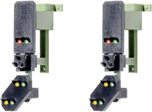 H0 Viessmann 4752 Lichtsignal mit Vorsignal Blocksignalköpfe Fertigmodell DB