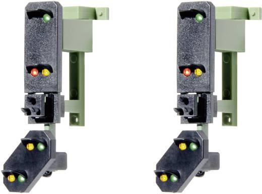 H0 Viessmann 4753 Lichtsignal mit Vorsignal Einfahrsignalköpfe Fertigmodell DB