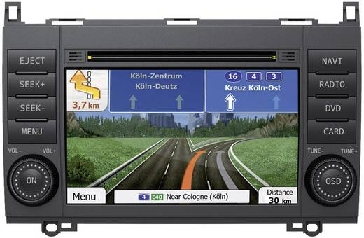 ESX VN710-MB-A2 Navigationsgerät, Festeinbau Europa