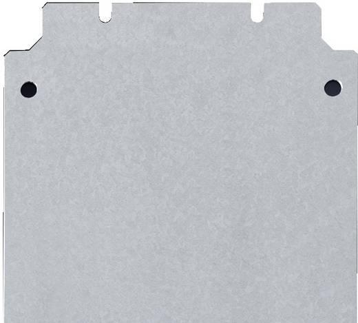 Montageplatte (B x H) 600 mm x 200 mm Stahlblech Rittal 1566.700 1 St.