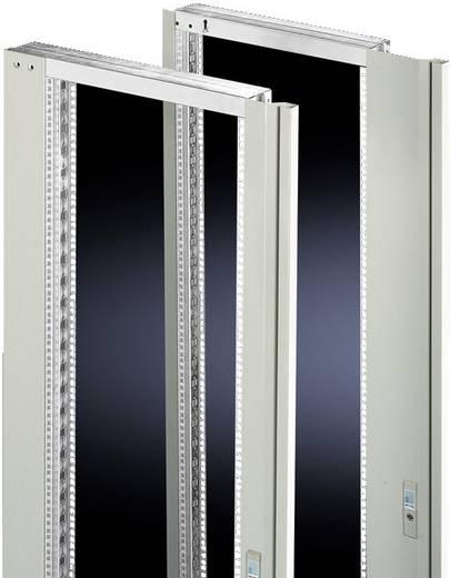Schwenkrahmen mit Blende Stahlblech Licht-Grau (RAL 7035) (B x H) 482.6 mm x 36 HE Rittal 2337.235 1 St.