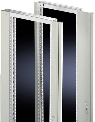 Schwenkrahmen mit Blende Stahlblech Licht-Grau (RAL 7035) (B x H) 482.6 mm x 36 HE Rittal 2338.235 1 St.