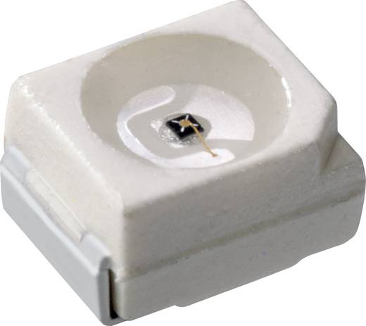 SMD-LED PLCC2 Hyper-Rot 22.4 mcd 120 ° 10 mA 1.75 V OSRAM LH T674