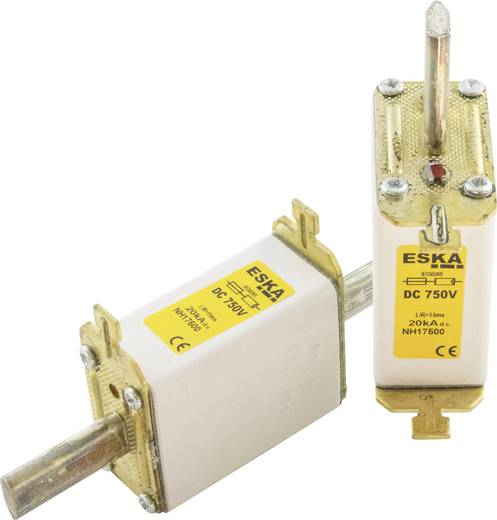 NH-Sicherung Sicherungsgröße = 1C 63 A 750 V/DC ESKA NH 1C 750V DC 63A