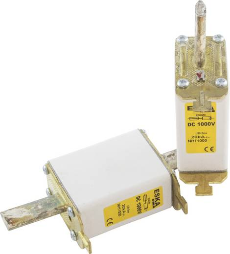 NH-Sicherung Sicherungsgröße = 1C 125 A 1000 V/DC ESKA NH 1C 1000V DC 125A