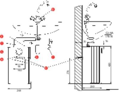 Boiler scaldacqua con serbatoio 5 l 10 l/min 35 fino a 85 °C AEG Haustechnik Huz 5 ÖKO DropStop 222167 ferma gocce