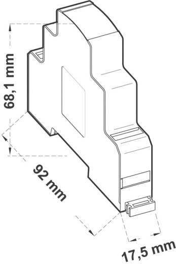 Hutschienen-Netzteil (DIN-Rail) Comatec PSM1/10.24 0.4 A 10 W