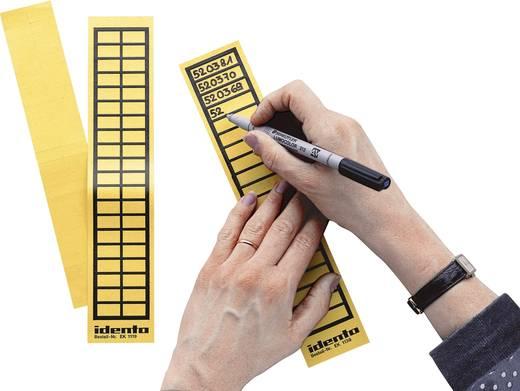Kabel-Etikett EK 38 x 11 mm Farbe Beschriftungsfeld: Gelb TE Connectivity 6-1768019-9 EK1138 Anzahl Etiketten: 20