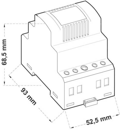 Hutschienen-Netzteil (DIN-Rail) Comatec TBD202024P 0.8 A 20 W