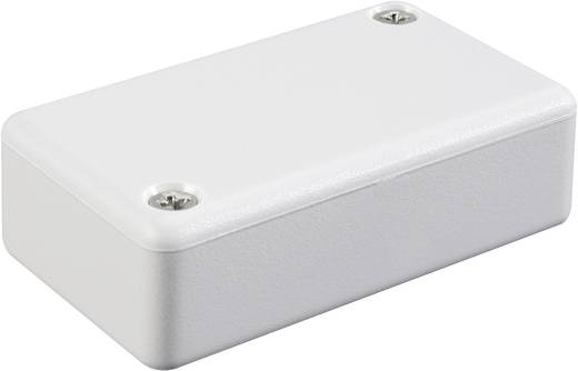 Euro-Gehäuse 40 x 40 x 15 ABS Licht-Grau (RAL 7035) Hammond Electronics 1551QGY 1 St.