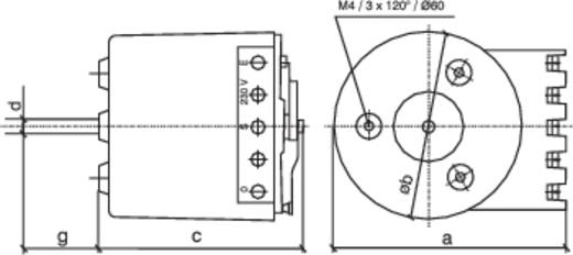 Regeltransformator 1 x 230 V 1.86 A 0090 Thalheimer