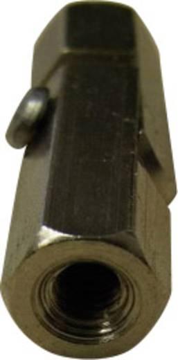 Gelenkbolzen 2 x Innengewinde M3 Messing Abstandsmaß 25 mm TOOLCRAFT 2510/155-7 1 St.
