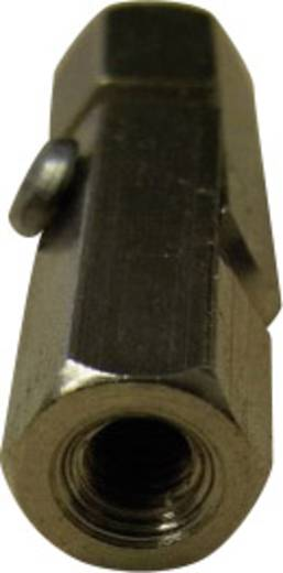 TOOLCRAFT 2510/155-7 Gelenkbolzen 2 x Innengewinde M3 Messing Abstandsmaß 25 mm 1 St.