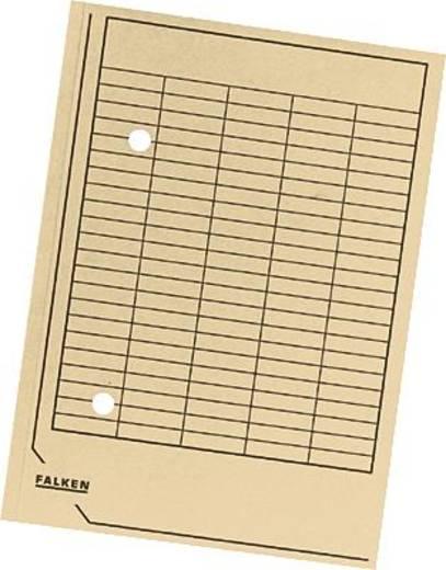 Falken Umlaufmappen/80001506 DIN A4 beige Manila Karton 250 g/qm