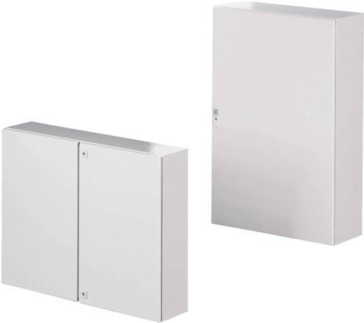 Schaltschrank 1000 x 1200 x 300 Stahlblech Grau-Weiß (RAL 7035 ...